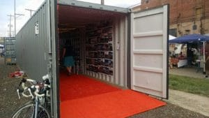 Special Events- Art Gallery in a Storage Container