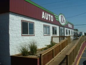 3-plex D's Auto World Modular Sales Office
