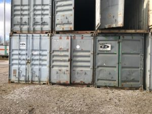 40' Storage Containers - Damaged starting at $600
