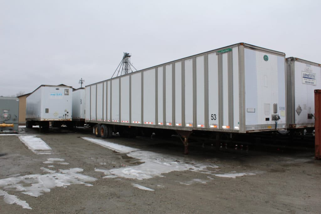 53' Used Storage Trailers Starting at $1800 Green Bay